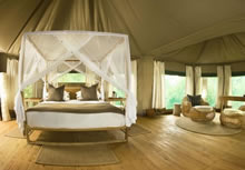 chindeni camp luxury tent
