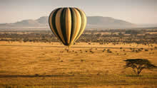 Four Seasons Safari Lodge Serengeti - balloon safari