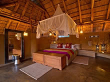 kapamba lodge bedroom