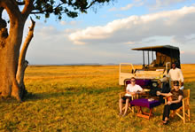 serengeti mara camp exclusive safari sundowners